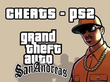 Cheats GTA San Andreas PS2 (Códigos, trapaças, senhas)