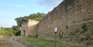 Murallas de Arezzo.