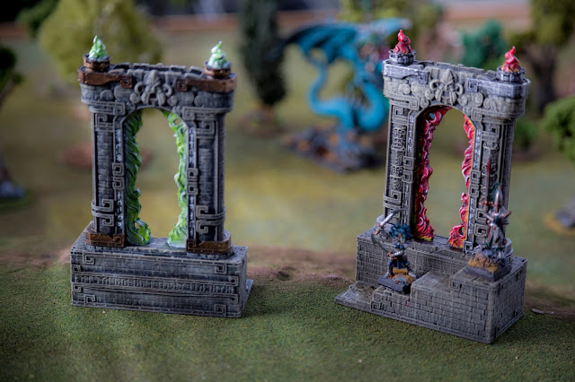 Wargame News and Terrain: Printable Scenery: New Time Warp - Rampage