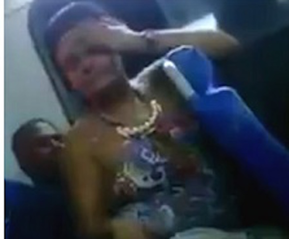 Shameless Couple Caught doing this Inside Public Bus in Front of Horrified Passengers (Photos)