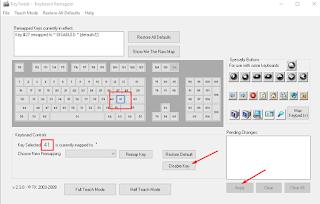 cara mengatasi keyboard mengetik sendiri dengan nonaktifkan tombol