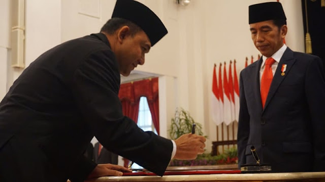 Ini Alasan Jokowi Pilih Heru Pimpin BNN
