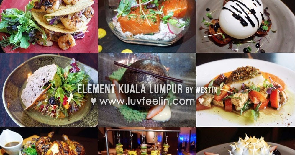 Trace restaurant bar element kuala lumpur - Element bar cuisine ...