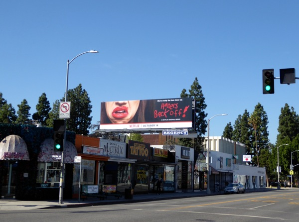 Haters Back Off Netflix billboard