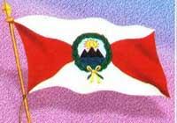 Primera Bandera Oficial del Perú