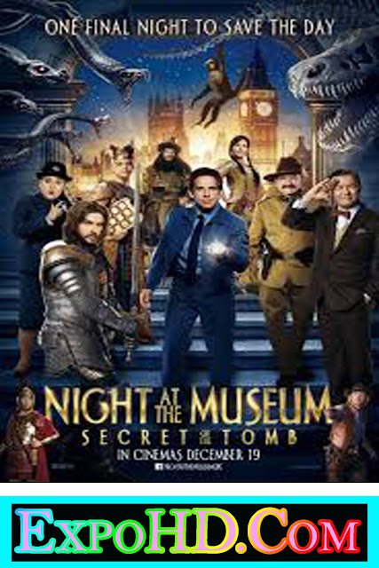 ExpoHD – Night at the Museum Secret of the Tomb 2014 Dubbed Hindi