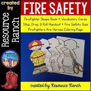 https://www.teacherspayteachers.com/Product/Fire-Safety-2111276