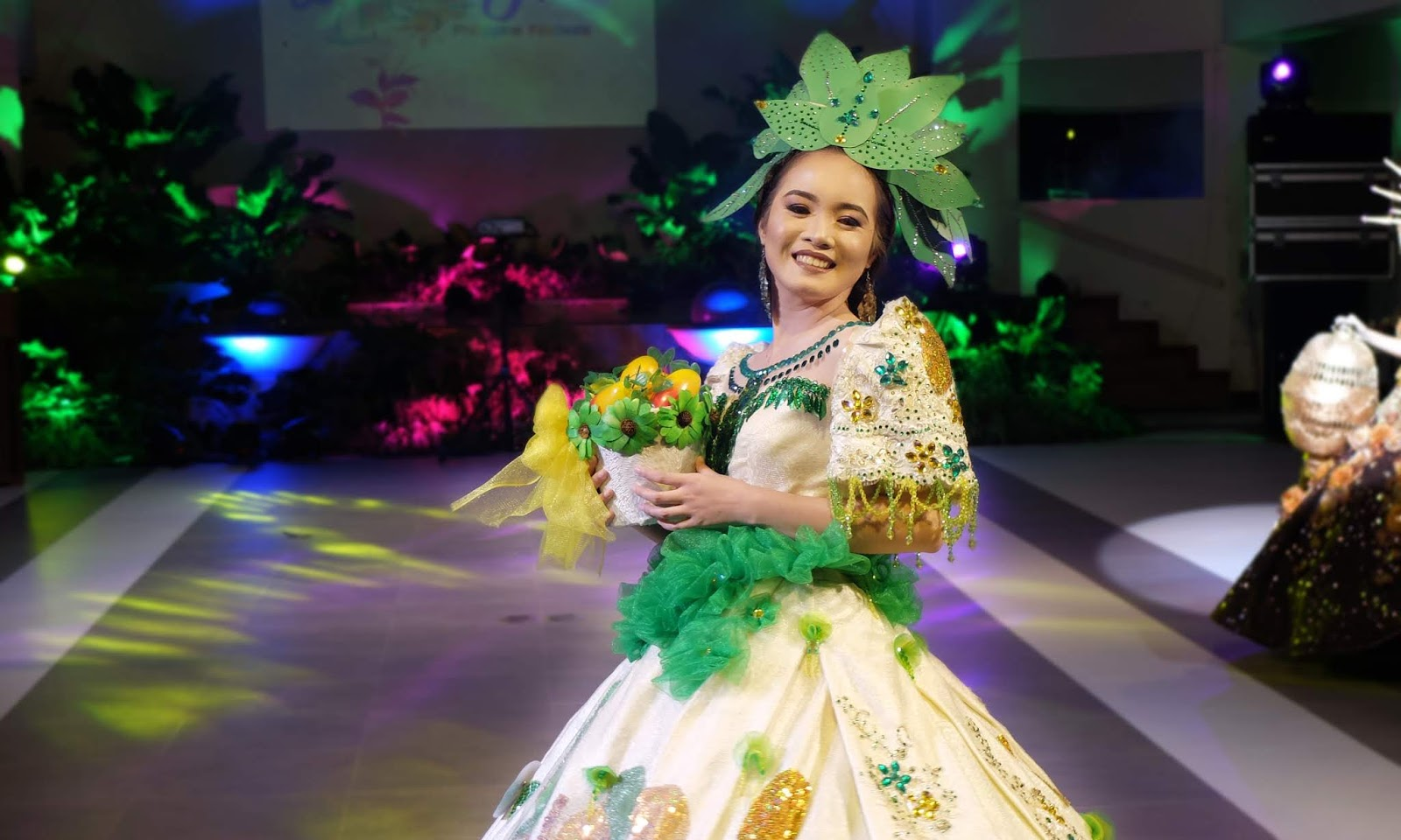 Manggahan Festival of Guimaras Iloilo Festival de las Bellas y Flores Gown Competition National Costume