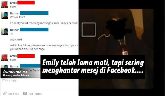 Teman Wanita Dah Lama Mati, Tapi Dia Selalu Hantar Mesej Di Facebook