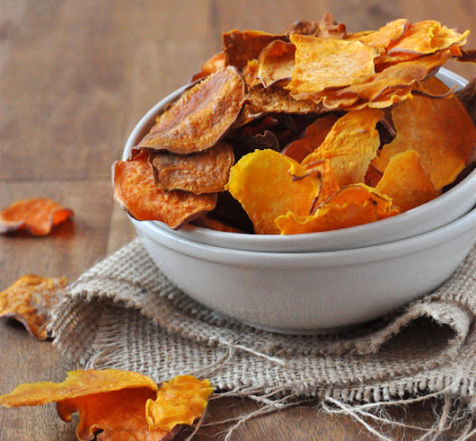 Sweet Potato Chips and Health Benefit
