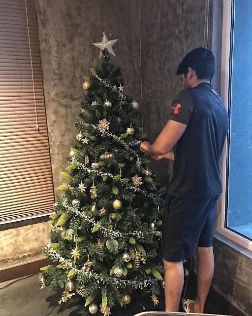 Naga Chaitanya Christmas Tree photo