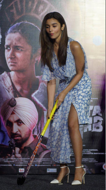 Alia Bhatt Plays Hockey in Udta Punjab movie