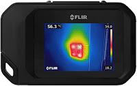 Jual Flir C3 Wi-Fi Pocket-Sized Thermal Imaging Camera penerus Flir C2 Call-08128222998