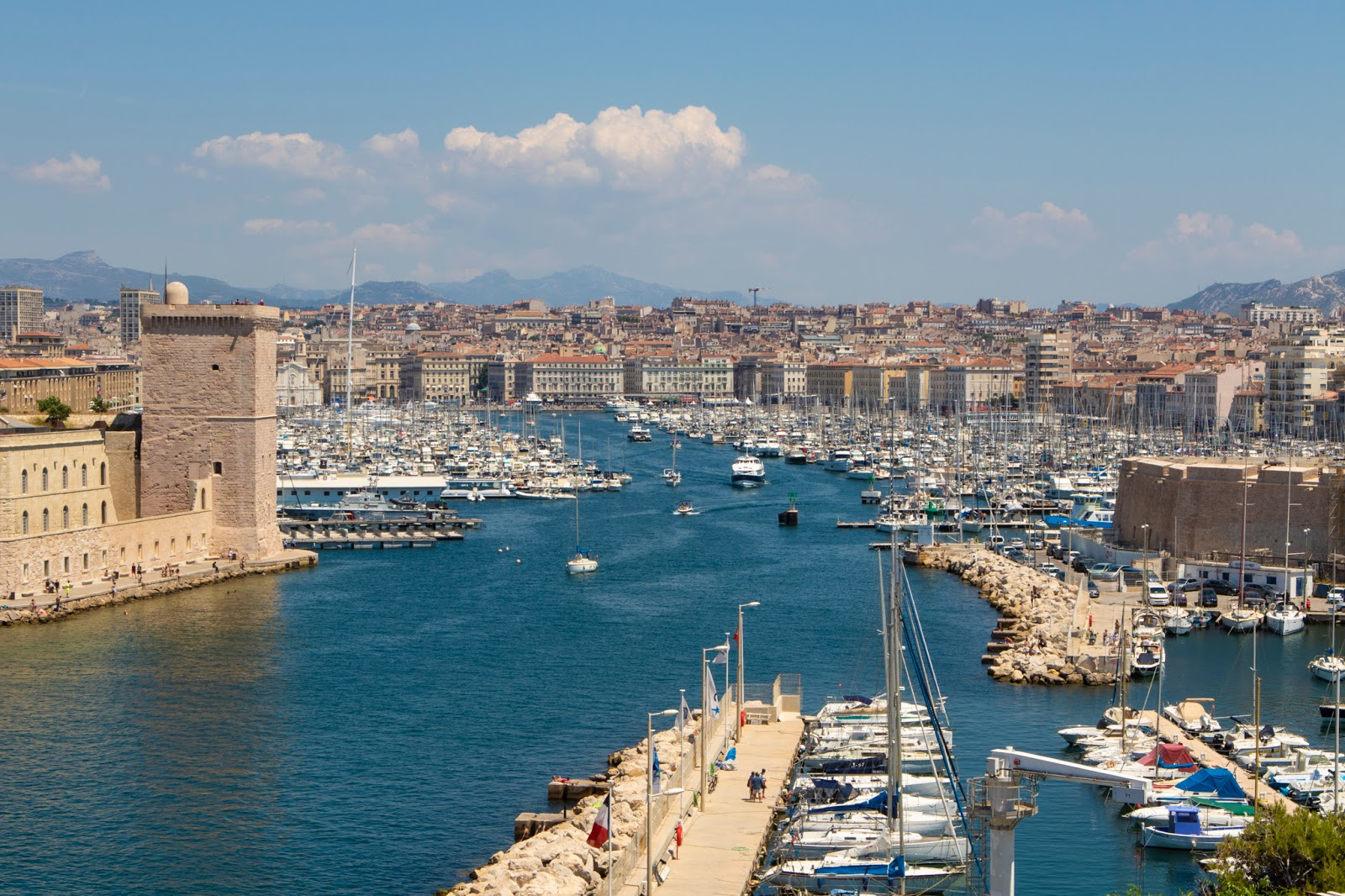 Provenza e campi di lavanda: settimo giorno, Marsiglia