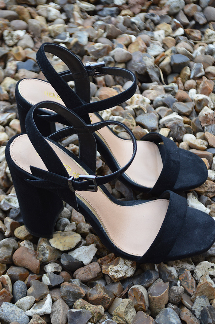 dune black heels fashion bloggers