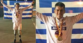 Ασημένιος πρωταθλητής Ευρώπης στα 200μ. ο Στέλιος Μαλακόπουλος