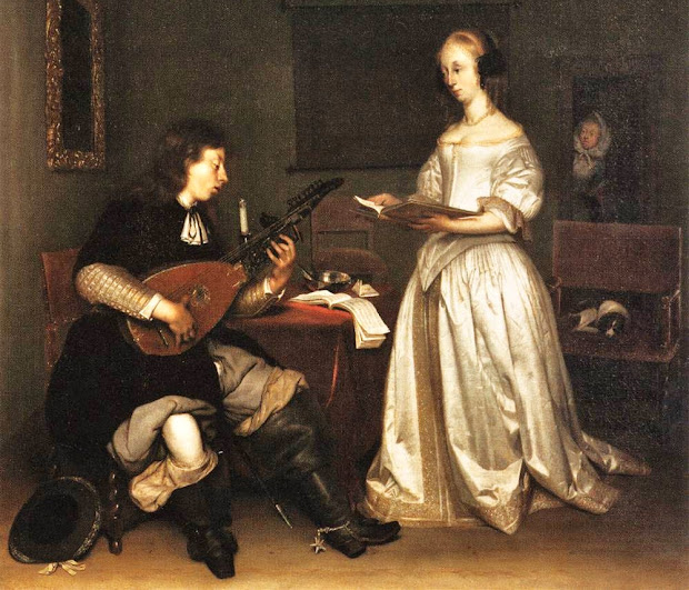 ' Time 1600s Music Indoors Folks With