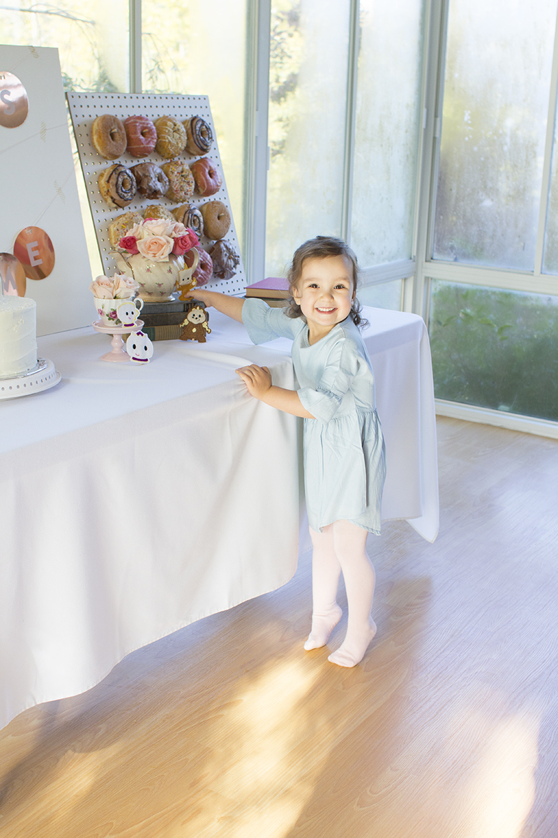 Beauty and the Beast Toddler Birthday Party