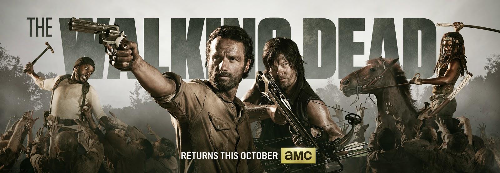 the walking dead season 4 poster comic con - The Walking Dead ( THE DECLINIO v.5)