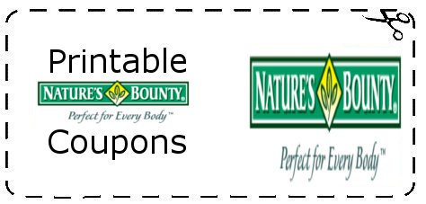 image regarding Bounty Printable Coupons identified as Natures Bounty Discount coupons Printable Grocery Discount codes