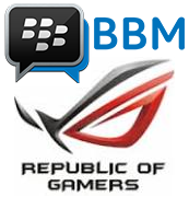 BBM Mod Themes ROG (Republic Of Gamers) Spesial Update 2015