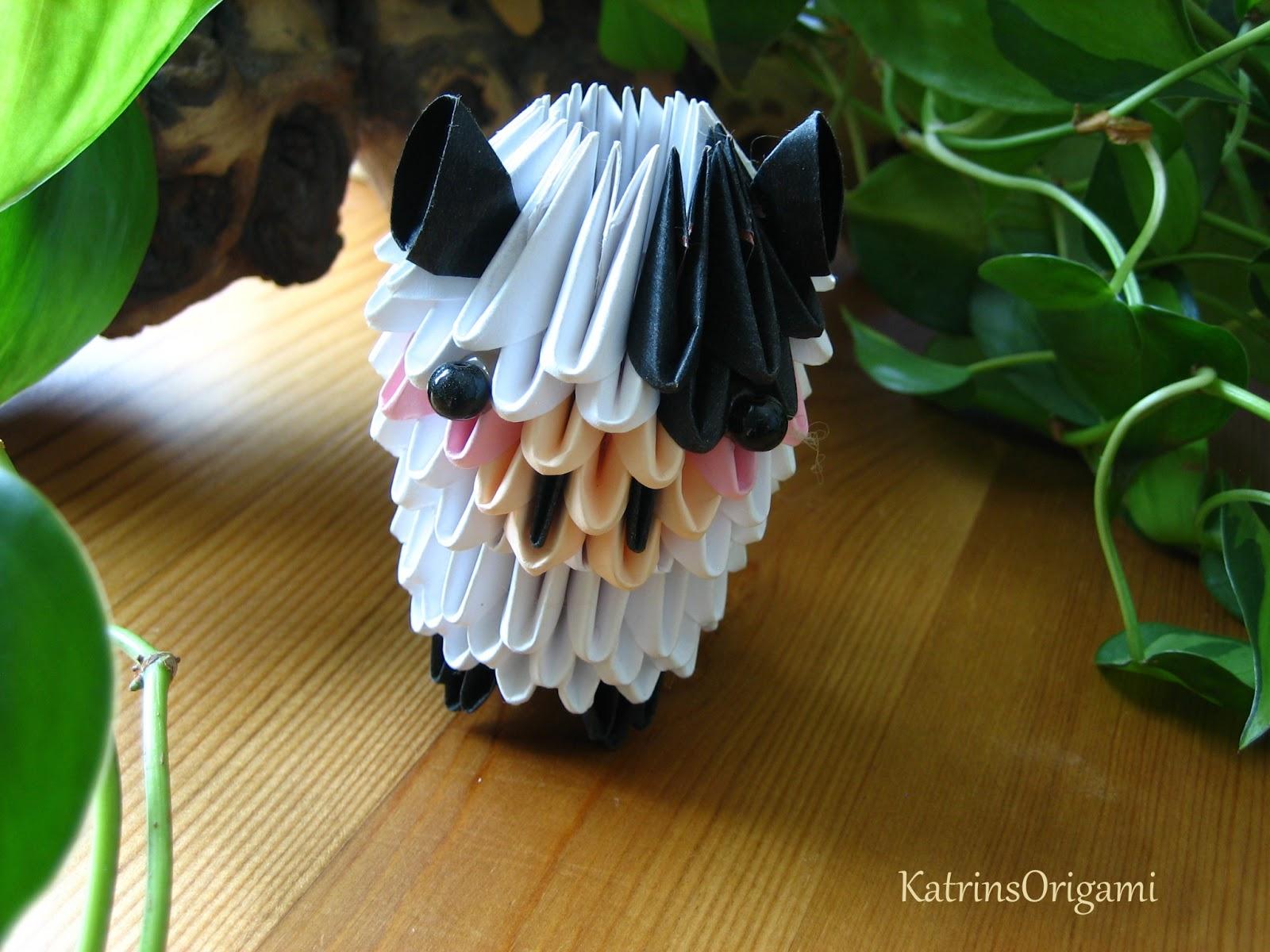 gallerphot 3d origami anleitung tiere. Black Bedroom Furniture Sets. Home Design Ideas