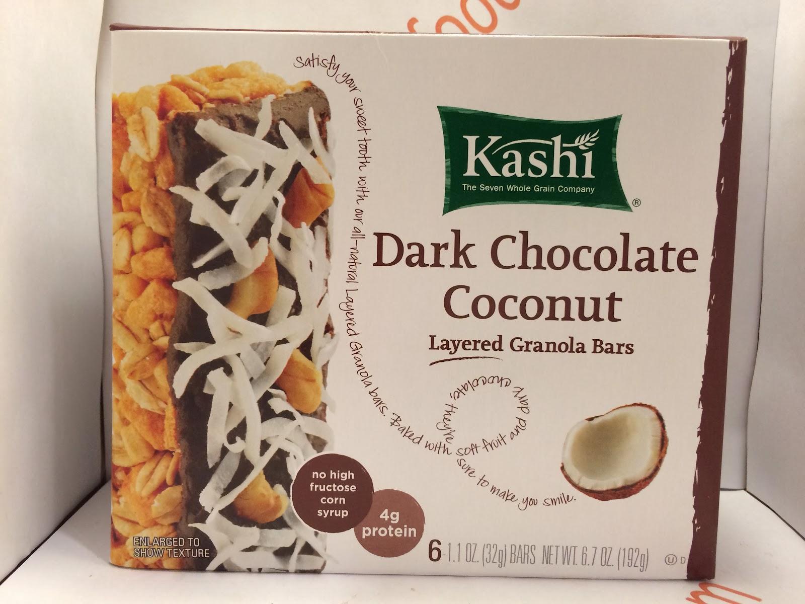 Crazy Food Dude: Review: Kashi Dark Chocolate Coconut