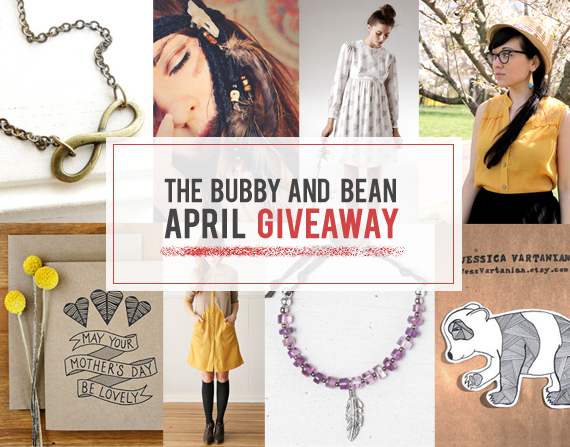 The Bubby and Bean April Giveaway // Win 7 Prizes Worth $200!