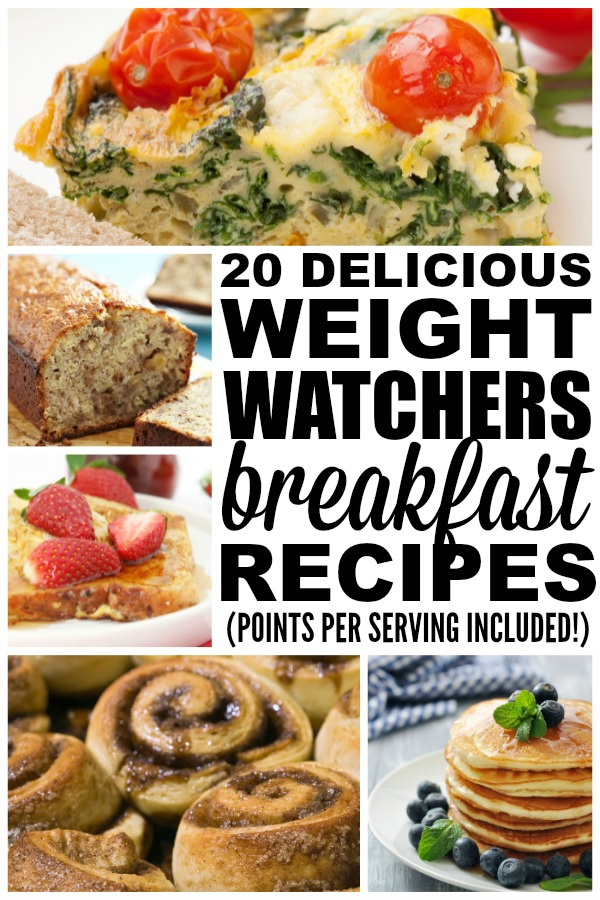 20 Weight Watchers breakfast recipes to kickstart your day