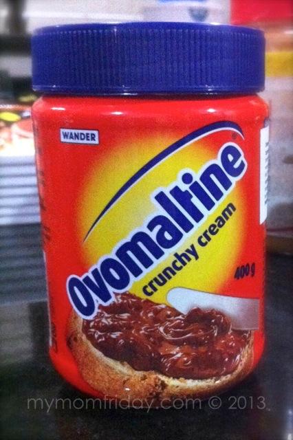 My MomFriday Ovomaltine Crunchy Cream Chocolate Spread