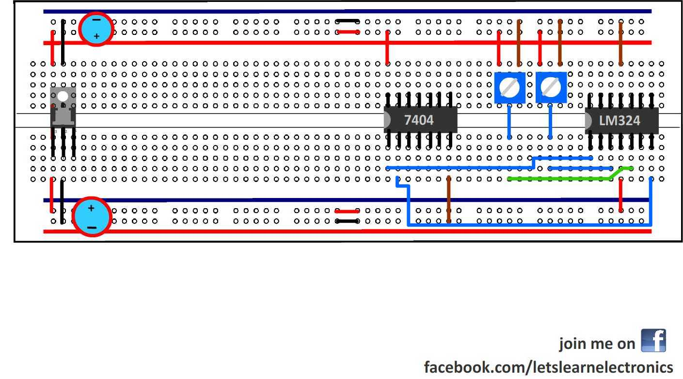 Make A Line Follower Robot From Basics Lets Learn Electronics Diagram For On Main Electric Panel Wiring