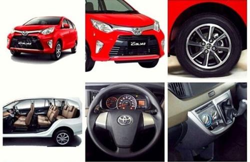 Point-Point Spesifikasi Toyota Calya