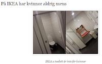 På IKEA har kvinnor aldrig mens