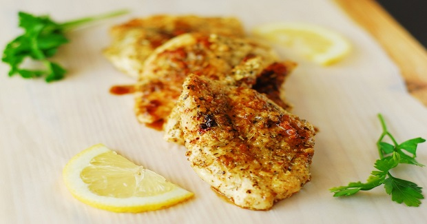 Garlic Crusted Chicken Recipe
