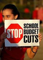 Stop school budget cuts