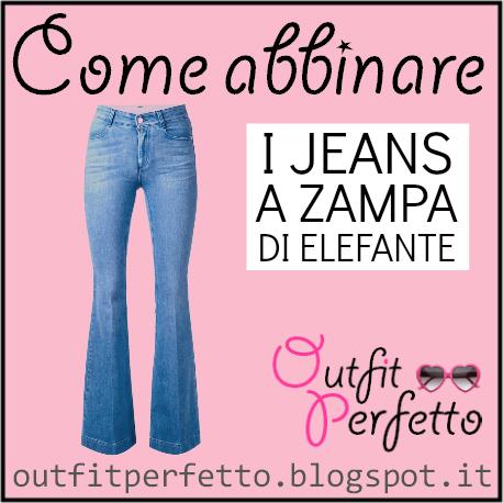 Come abbinare i jeans a zampa di elefante