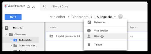 Kontrollera Många Googledokument I Urkund - Google dokument