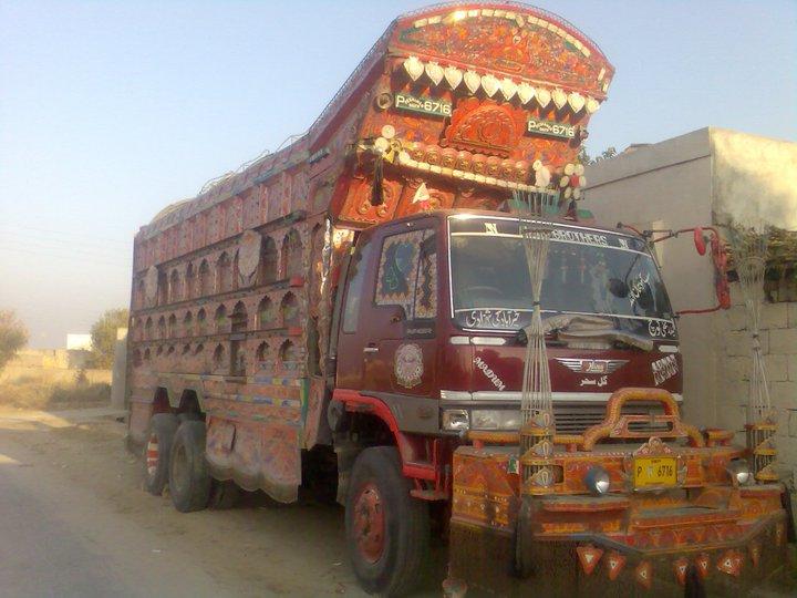 World Fast And Expensive Cars: Saram Jan Khan Trucks In