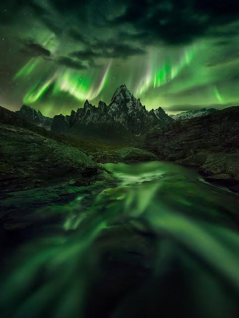 Aurora over Canada