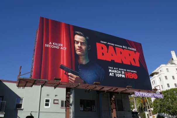 Barry season 2 billboard