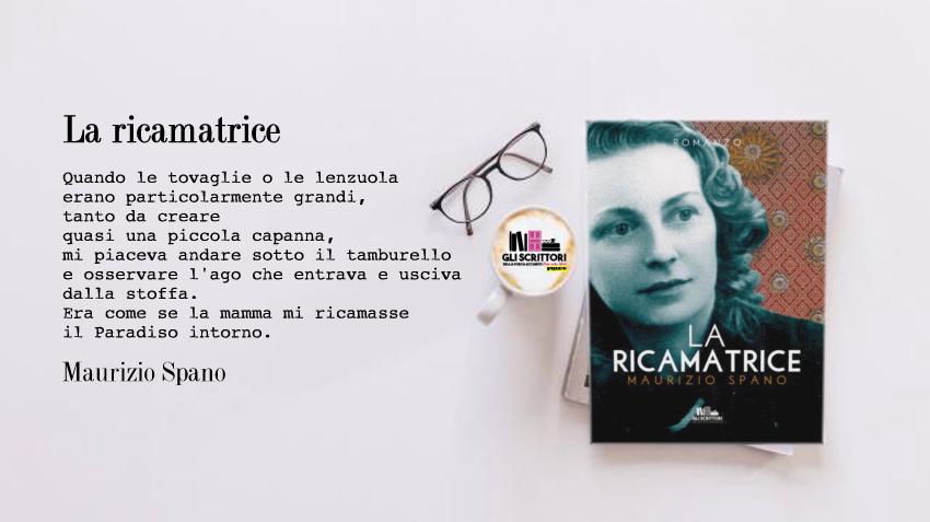 La ricamatrice, il nuovo romanzo di Maurizio Spano