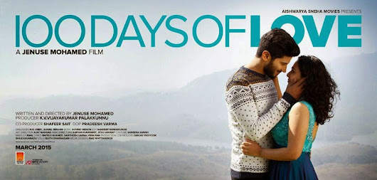 "Dulquer Salmaan's ""100 Days of Love"" teaser"