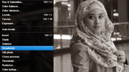 Cara Merubah Foto Hitam Putih Dengan Pixlr Editor