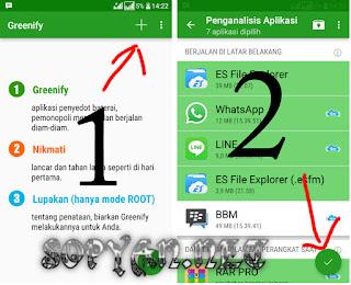 Penghemat baterai greenify