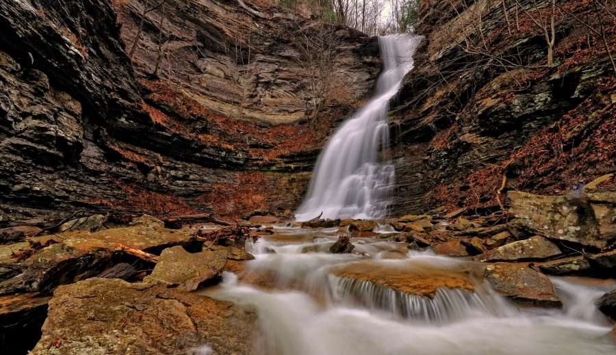 Discover West Virginia: Six Waterfalls of the Midland Trail