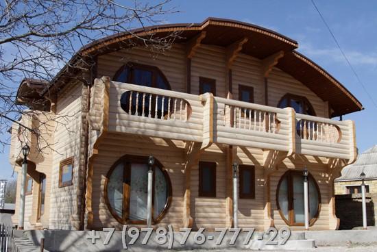 Строительство деревянных домов под ключ проекты
