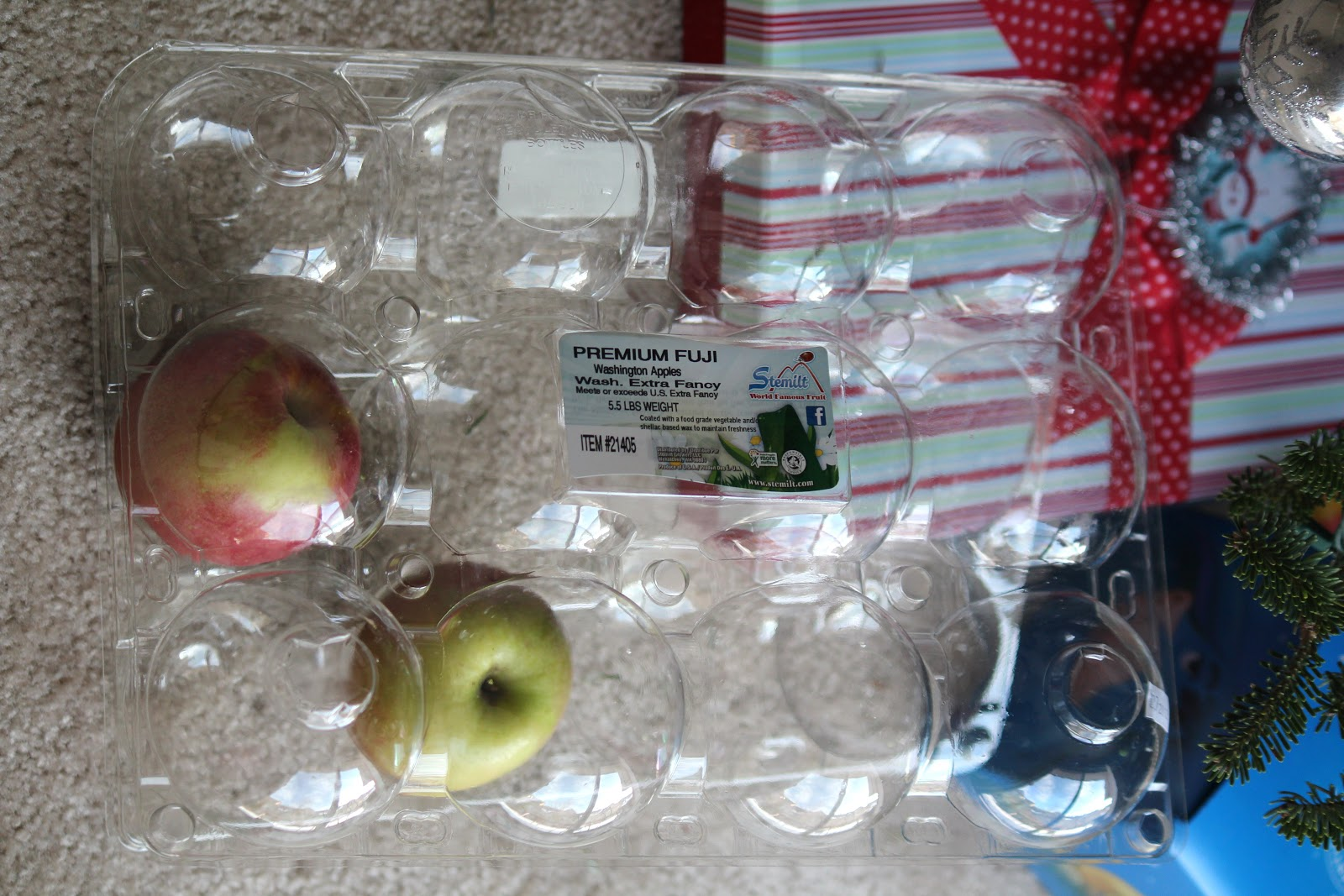 The Red Apron Reusing Plastic Apple Containers From Costco