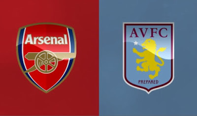 Arsenal Badge and Aston Villa Badge