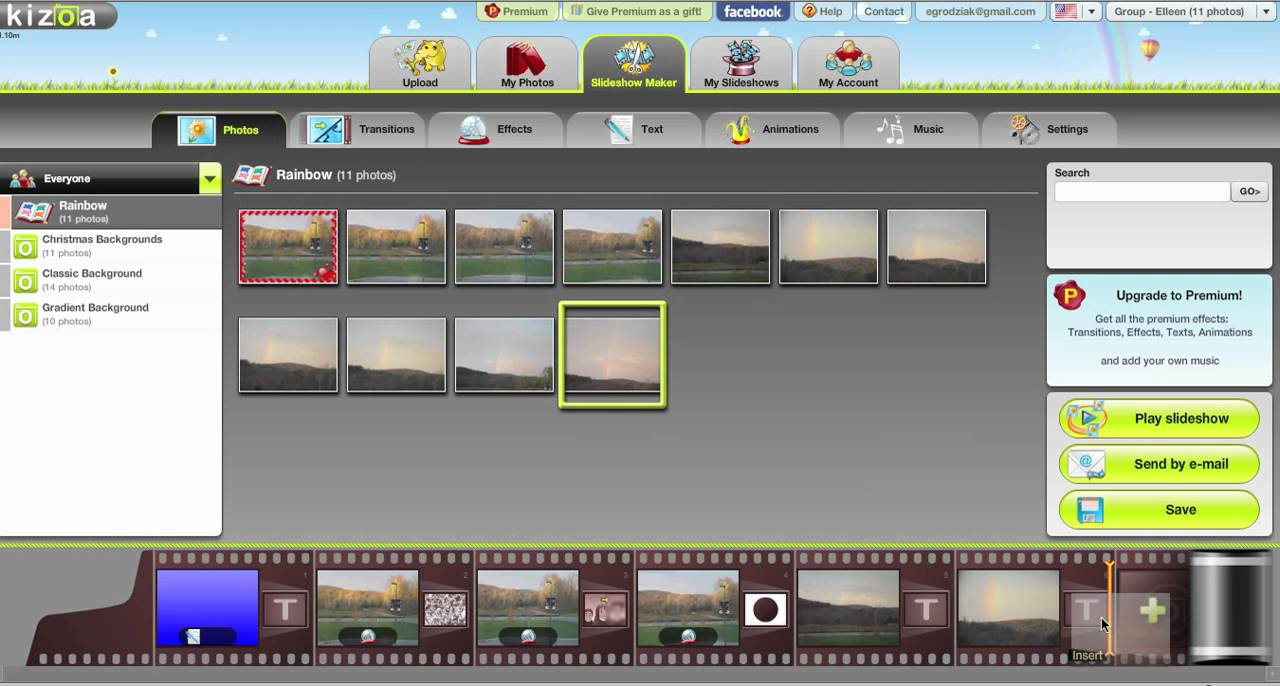 Free online Movie Maker, Video Maker, and Slideshow Maker to personalize photos, videos, and music with effects, text, and more!