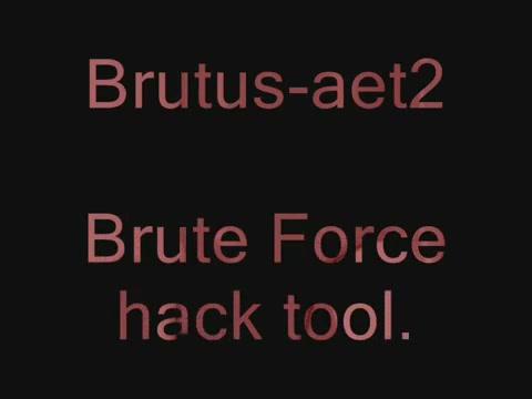 Brutus password cracker – download brutus-aet2. Zip aet2 | zyberph™.